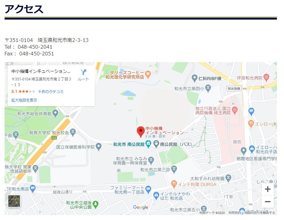 株式会社ピーカブー 地図