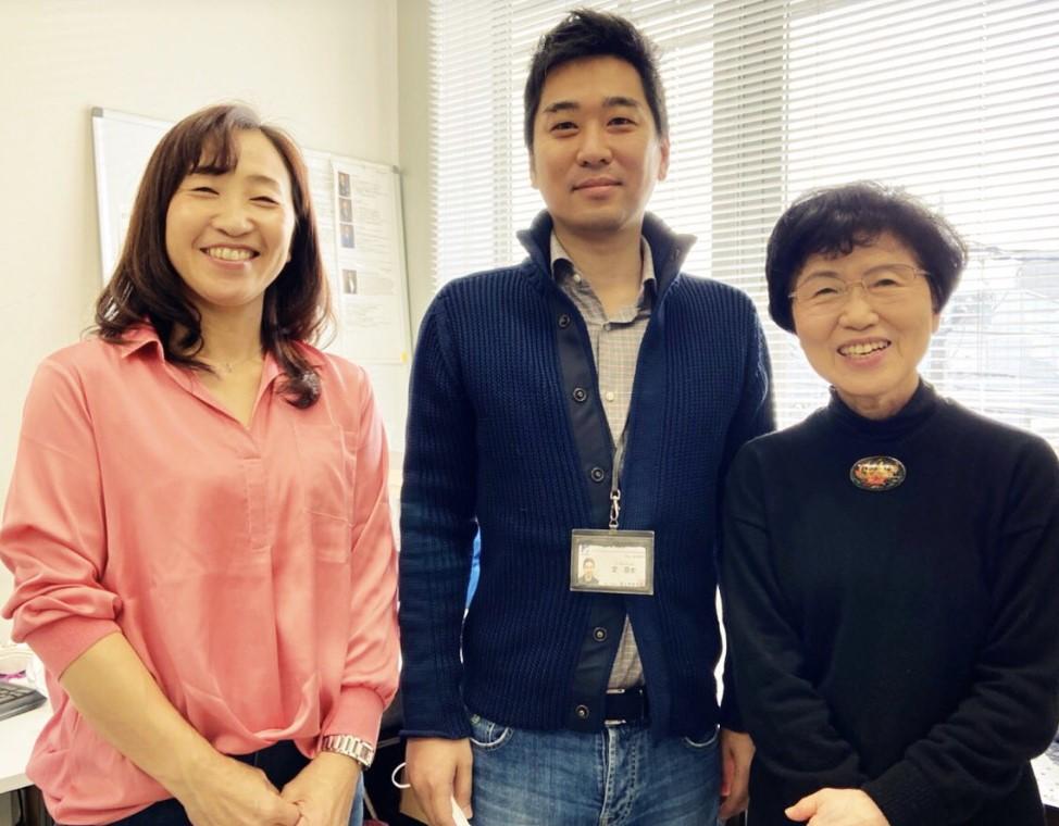 理研研究者と、東海大学名誉教授